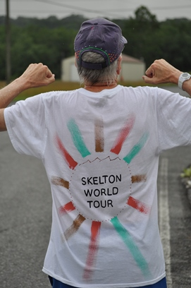 Skelton World Tour shirt
